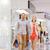 boldog · fiatal · pér · bevásárlótáskák · bevásárlóközpont · vásár · fogyasztói · társadalom - stock fotó © dolgachov