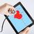 врач · прослушивании · сердцебиение · стетоскоп · стороны - Сток-фото © dolgachov