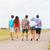 close up of teenage friends walking outdoors stock photo © dolgachov