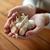 женщину · рук · чеснока · здоровья · люди - Сток-фото © dolgachov
