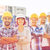 csoport · mosolyog · építők · kint · üzlet · épület - stock fotó © dolgachov