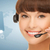 futuristic female helpline operator stock photo © dolgachov