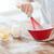 közelkép · férfi · kéz · paprikák · wok · főzés - stock fotó © dolgachov