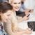 studenten · smartphones · onderwijs · technologie · internet - stockfoto © dolgachov