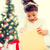 boldog · gyermek · lány · ajándék · doboz · ünnepek · ajándékok - stock fotó © dolgachov
