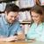 lány · táblagép · könyvek · iskola · oktatás · technológia - stock fotó © dolgachov