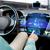 auto · dashboard · licht · Rood - stockfoto © dolgachov