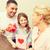 happy family celebrating mothers day stock photo © dolgachov