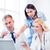 врачи · глядя · ноутбука · заседание · здравоохранения · медицинской - Сток-фото © dolgachov