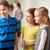 aprendizaje · junto · tres · escuela · primaria · ninos · lectura - foto stock © dolgachov