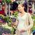 terhes · nő · vásárol · virágok · nő · virág · baba - stock fotó © dolgachov