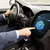 man driving car with eco mode on board computer stock photo © dolgachov