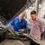 mecánico · de · automóviles · cliente · coche · tienda · auto · servicio - foto stock © dolgachov