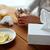 ボックス · 生姜 · 食品 · クリスマス · 砂糖 · お菓子 - ストックフォト © dolgachov