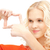 vrouw · frame · vingers · foto · handen · teken - stockfoto © dolgachov