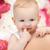 giocare · dito · cute · ragazza · felice · mano · bambino - foto d'archivio © dolgachov