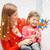 幸せ · 母親 · 子 · 少女 · おもちゃ · 夏 - ストックフォト © dolgachov