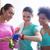 szczęśliwy · kobiet · czasu · siłowni - zdjęcia stock © dolgachov