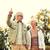 starszy · para · spaceru · parku · wraz · kobieta · kobiet - zdjęcia stock © dolgachov