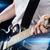 гитарист · играет · электрической · гитаре · избирательный · подход · фото - Сток-фото © dolgachov