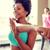 fitnessz · tánc ·  · nők · boldog · tornaterem - stock fotó © dolgachov
