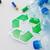 onzin · zak · groene · recycleren · symbool - stockfoto © dolgachov