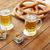 üveg · sör · búza · fa · fából · készült · bár - stock fotó © dolgachov