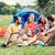 picknick · vrienden · portret · cool · jongens · klaar - stockfoto © dolgachov
