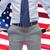 człowiek · biznesu · Stany · Zjednoczone · tie · Ameryki · banderą · działalności - zdjęcia stock © dolgachov