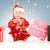 ayudante · bebé · Foto · blanco · nino - foto stock © dolgachov