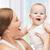 gelukkig · moeder · spelen · weinig · baby · jongen - stockfoto © dolgachov