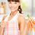 jeune · fille · cuisine · manger · carotte · souriant · fille - photo stock © dolgachov