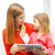 happy mother and daughter with tablet pc computer stock photo © dolgachov