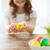 nina · amarillo · juguete · Pascua - foto stock © dolgachov