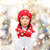 幸せ · 女性 · 冬 · 服 · 手のひら - ストックフォト © dolgachov