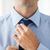 бизнесмен · галстук · мнение · черный · костюм · моде · работу - Сток-фото © dolgachov