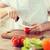 eller · domates · keskin · bıçak · tablo - stok fotoğraf © dolgachov