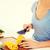 女性 · 野菜 · サラダ · 手 · 健康 - ストックフォト © dolgachov
