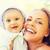 szczęśliwy · matka · mały · baby · odkryty · rodziny - zdjęcia stock © dolgachov