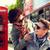 gelukkig · paar · Londen · vriendschap - stockfoto © dolgachov