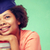 happy african bachelor girl with books at school stock photo © dolgachov