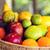 panier · juteuse · fruits · bois · vert · printemps - photo stock © dolgachov