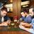 мужчины · друзей · питьевой · пива · Бар - Сток-фото © dolgachov