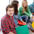gruppo · giovani · liceo · studenti · apprendimento · rilassante - foto d'archivio © dolgachov
