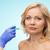 lippen · jonge · vrouw · lip · schoonheid · kliniek · gezicht - stockfoto © dolgachov