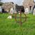 mezarlık · kilise · ören · bulutlar · mutlu - stok fotoğraf © dolgachov