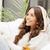 feliz · mujer · sonriente · brillante · Foto · mujer · belleza - foto stock © dolgachov