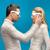 カップル · を見て · 3D · 映画 · 甘い - ストックフォト © dolgachov