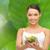 ボウル · 菜 · サラダドレッシング · 食品 · ガラス - ストックフォト © dolgachov