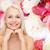 smiling young woman stock photo © dolgachov